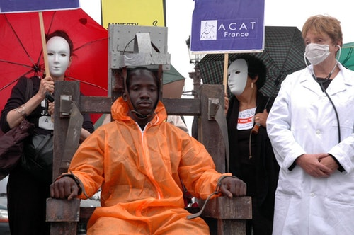 Photo Credit: World Coalition Against the Death Penalty CC BY SA 2.0