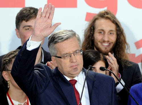 Bronislaw Komorowski|Photo Credit: AP/達志影像