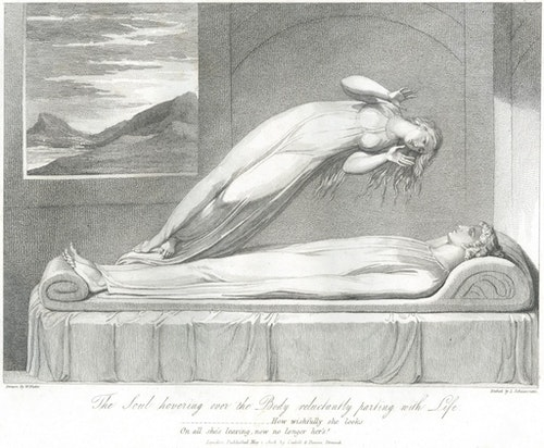Illustration designed by William Blake and engraved by Louis Schiavonetti. Image Credit: Blue Lantern Studio / Corbis / 達志影像