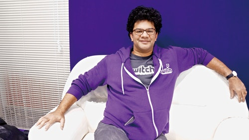 Raiford Cockfield's mission is to expand Twitch in Asia. Photo Credit: Jules Quartly/Taiwan Business TOPICS