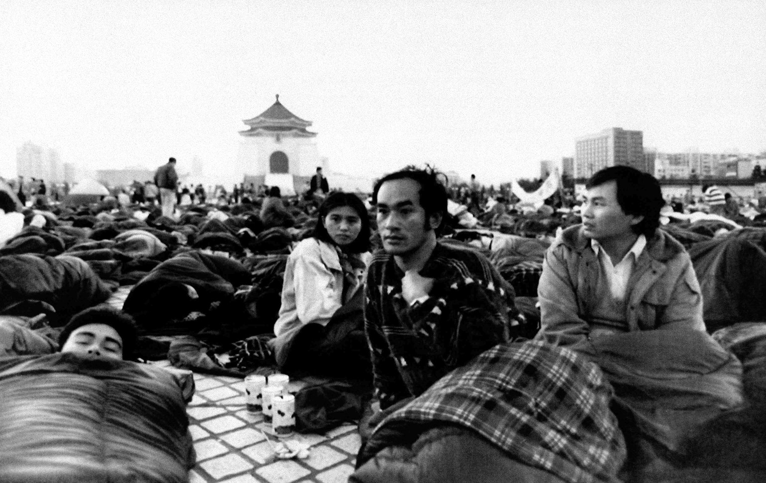 Student demonstrations Taiwan 1990