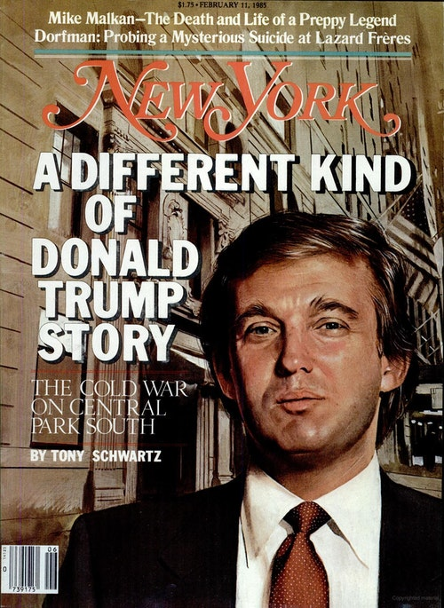 Trump New York mag