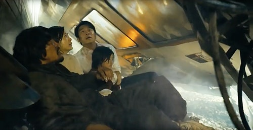 屍速列車 Train-To-Busan-Train-Explosion