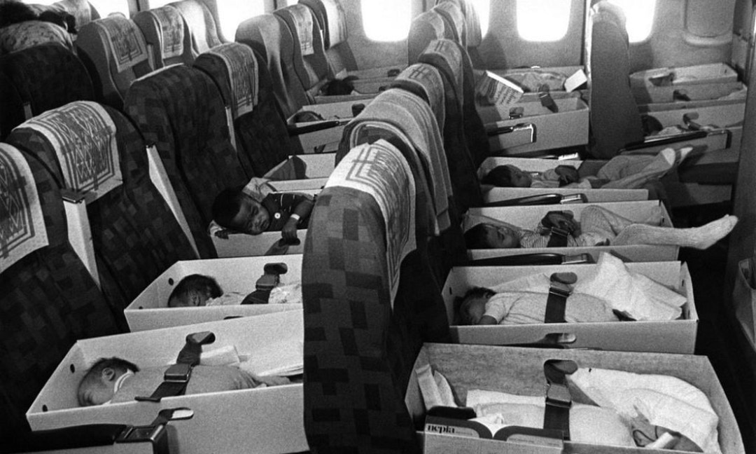After the Vietnam War, America Flew Planes Full of Babies Back to the U.S.
