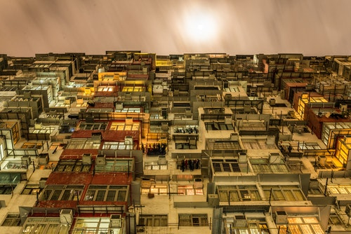 """Hong Kong is the city where there is huge skycraper, but there is place where people live """"stuck"""""""