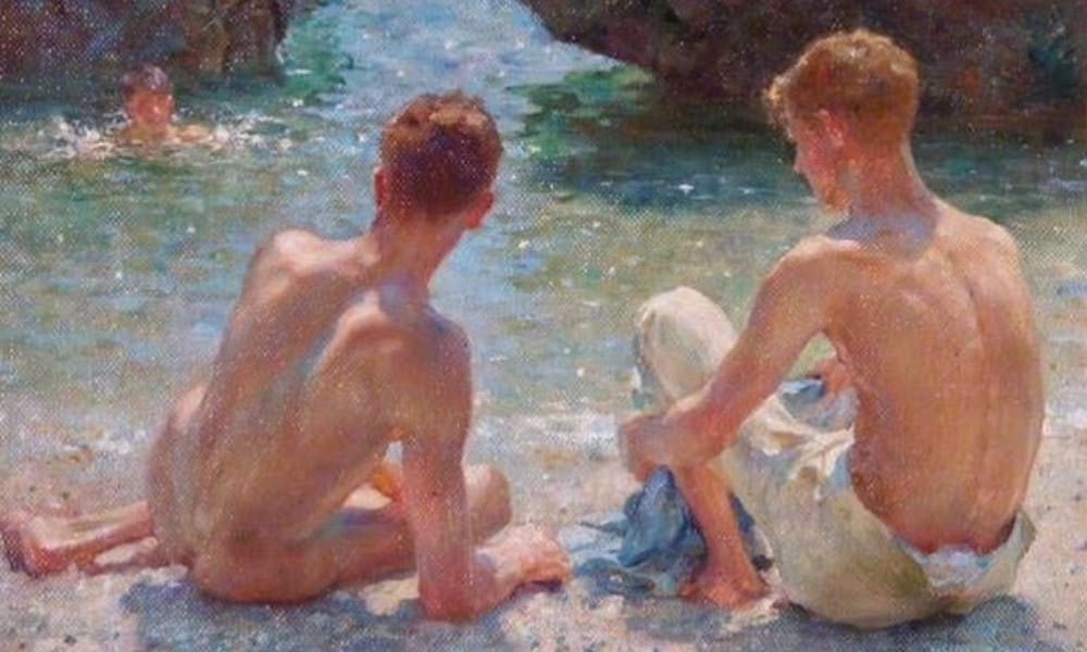 henry_scott_tuke_-_the_critics
