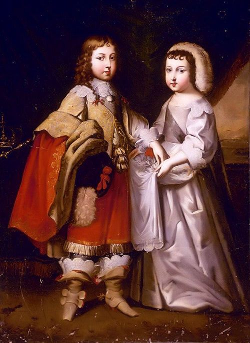 A_young_King_Louis_XIV_with_his_brother_