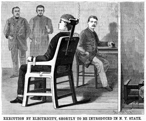 EXECUTION_BY_ELECTRICITY_electric_chair_