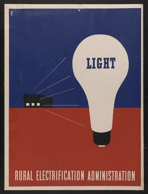 Light - Rural electrification administration 683px-Light_-_Rural_electrification_admi