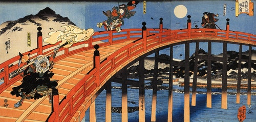 The_moonlight_fight_between_Yoshitsune_a