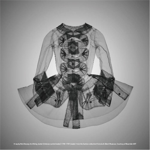 X-ray-by-Nick-Veasey-of-a-Riding-Jacket-